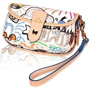 Dooney & Bourke Disney Sketch Wristlet 1st Gen